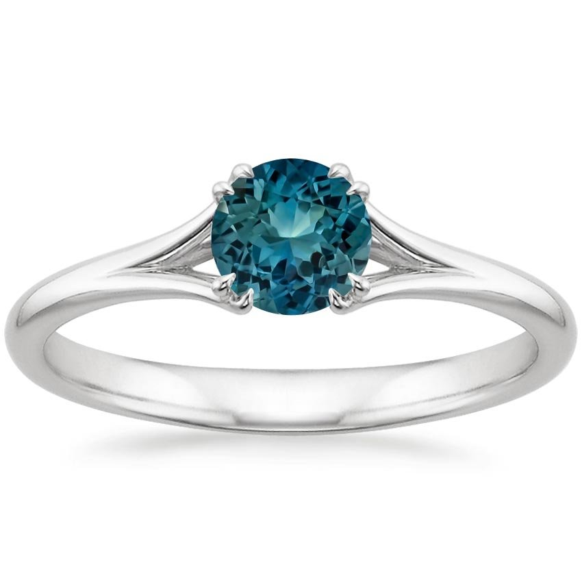 shop now teal reverie - Non Diamond Wedding Rings