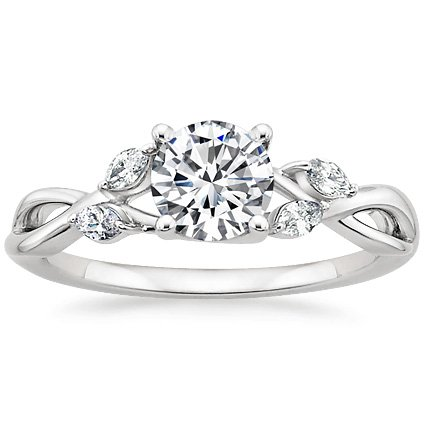 Willow Detailed Engagement Ring