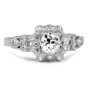 Alexia Antique Engagement Ring