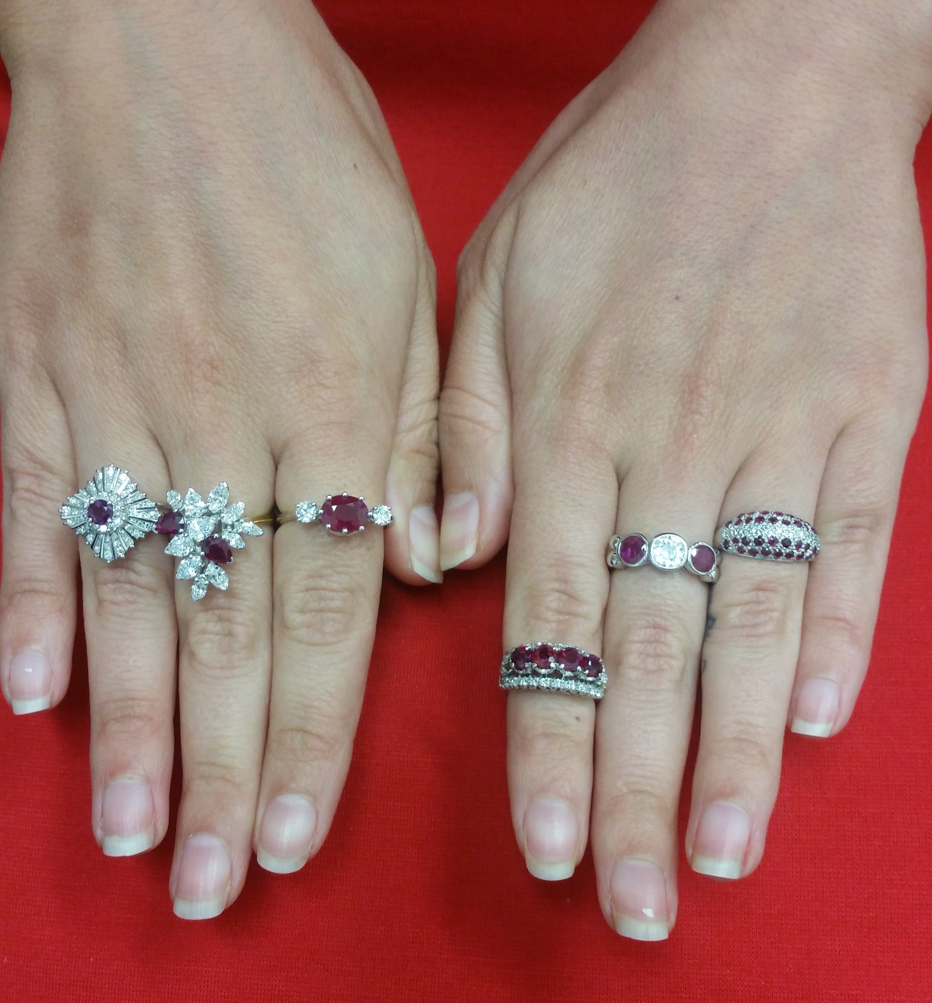 antique filigree and looking ruby ring inspired good engagement rings