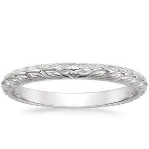 Garland Wedding Ring