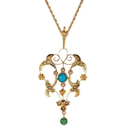 Jazia Victorian Necklace