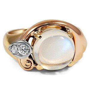 The Erela Moonstone Ring