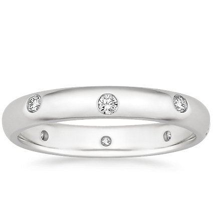 Nova Modern Wedding Ring