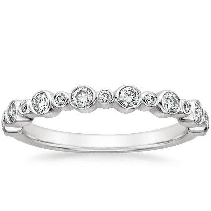 isla modern wedding ring