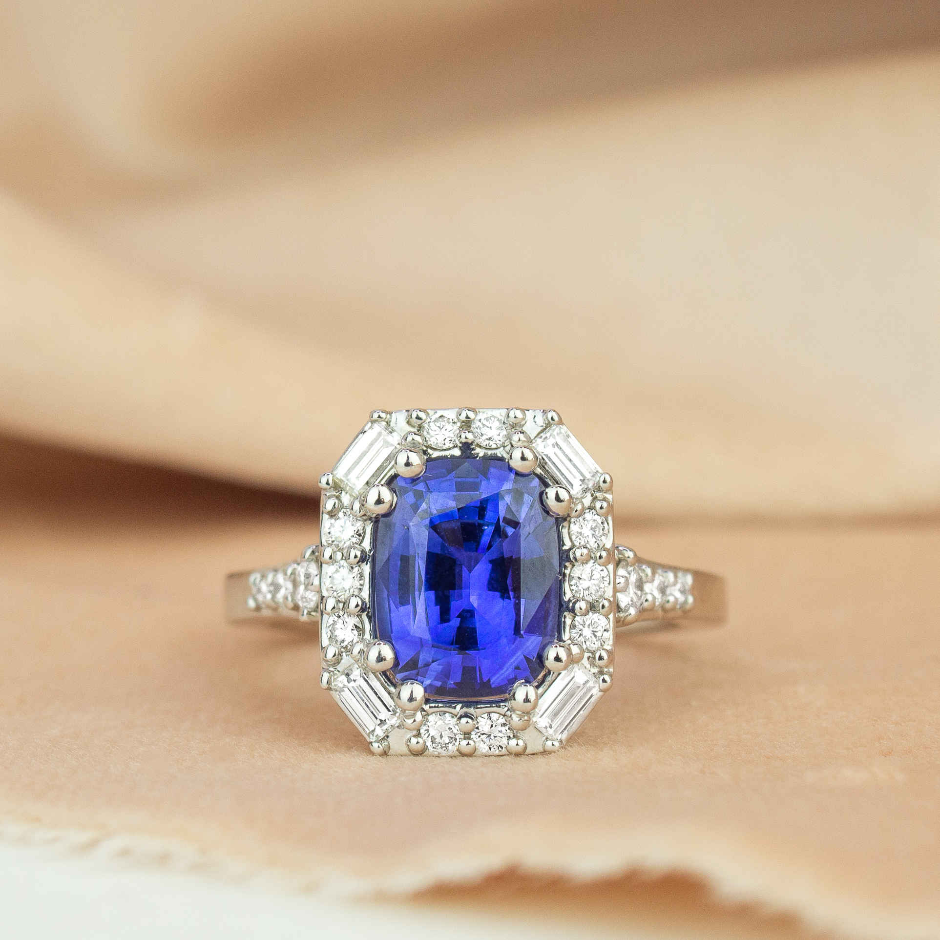 Antique Sapphire Rings Brilliant Earth