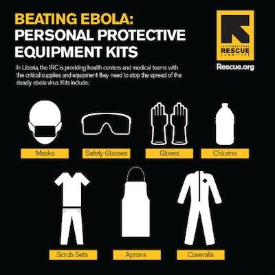 Ebola response kits IRC