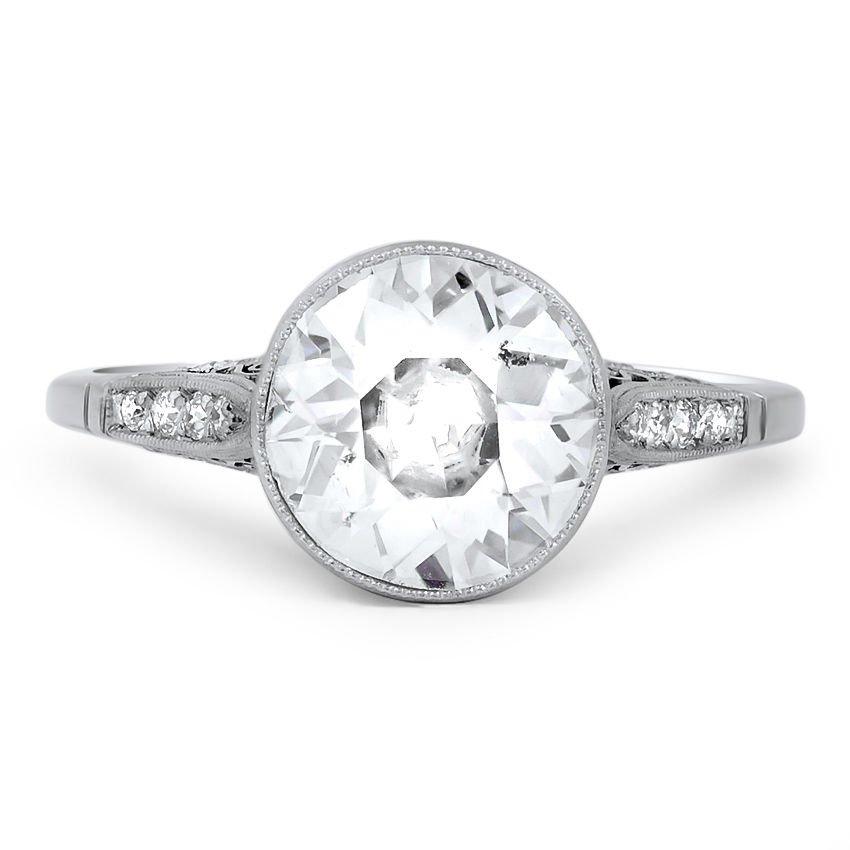 Inverness Vintage Engagement Ring