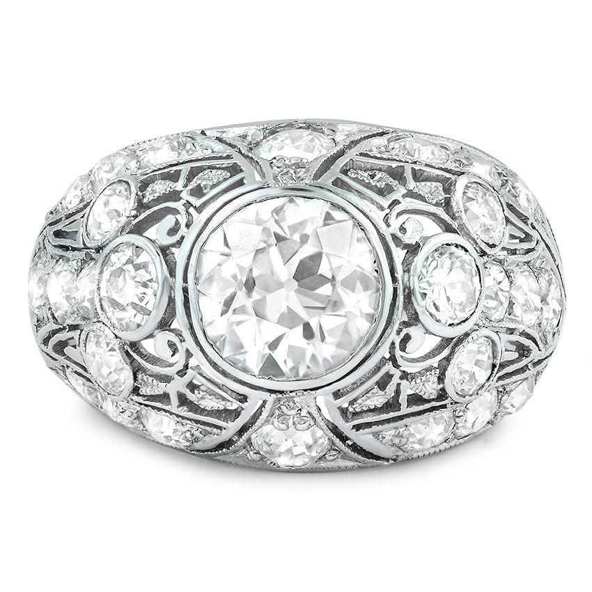 Maui Vintage Engagement Ring