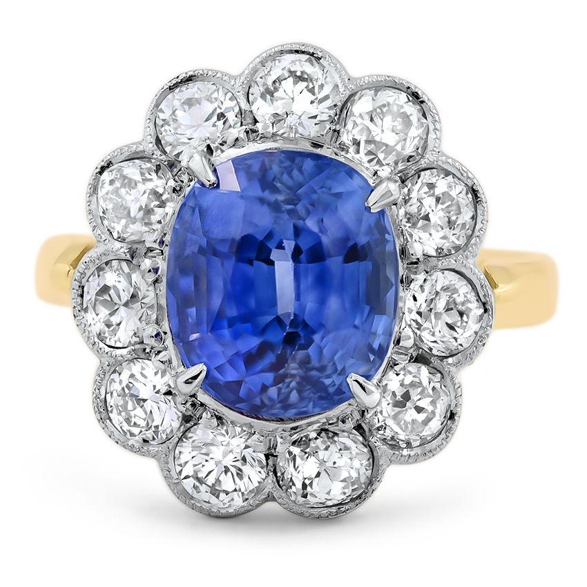 Torrie Vintage Engagement Ring