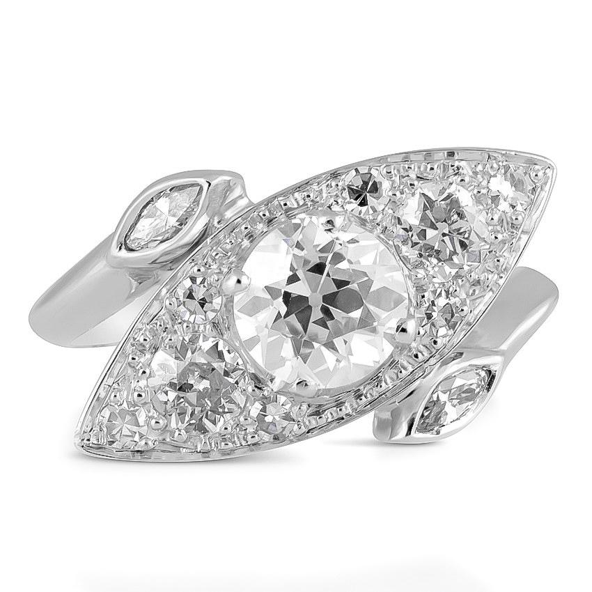 Dallas Retro Engagement Ring