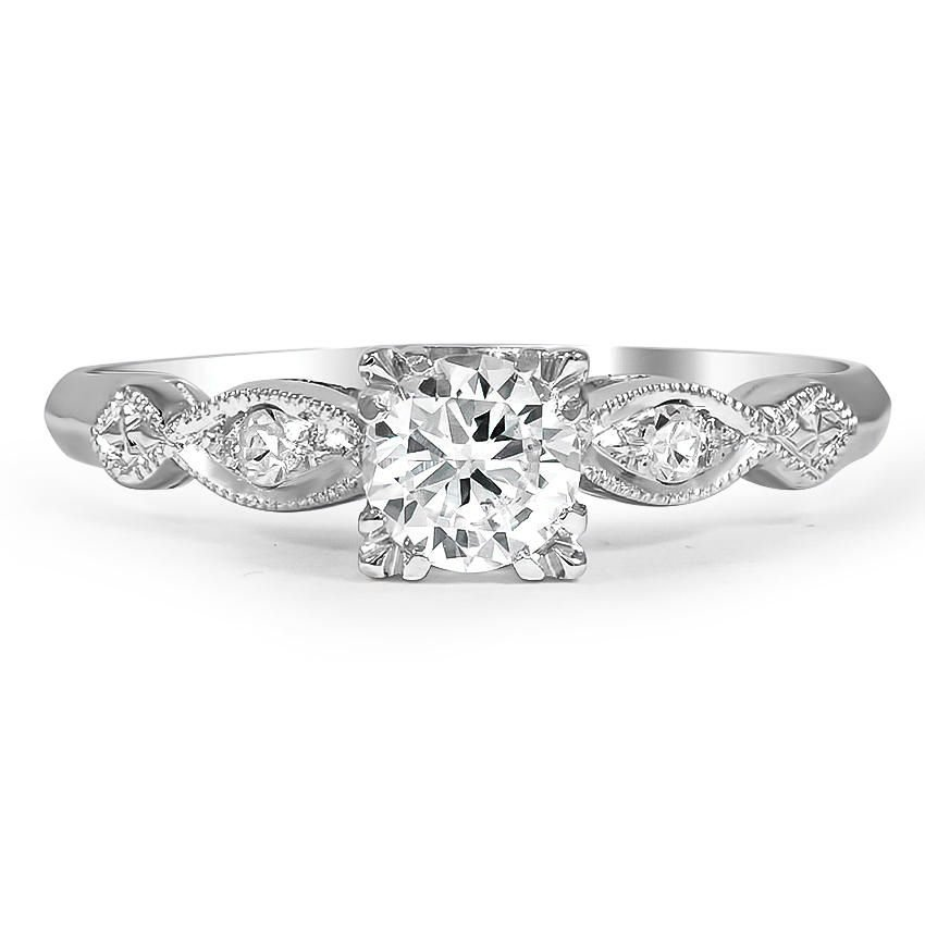 Juliane Retro Engagement Ring