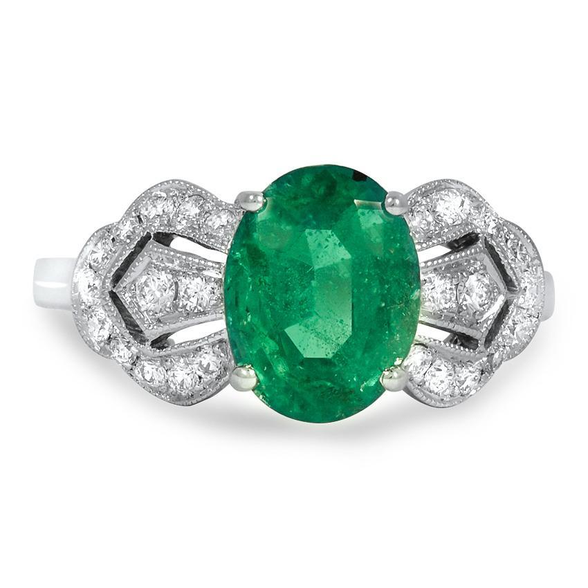 Ray Retro Engagement Ring