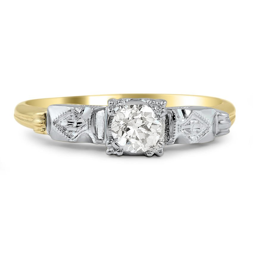Senni Retro Engagement Ring