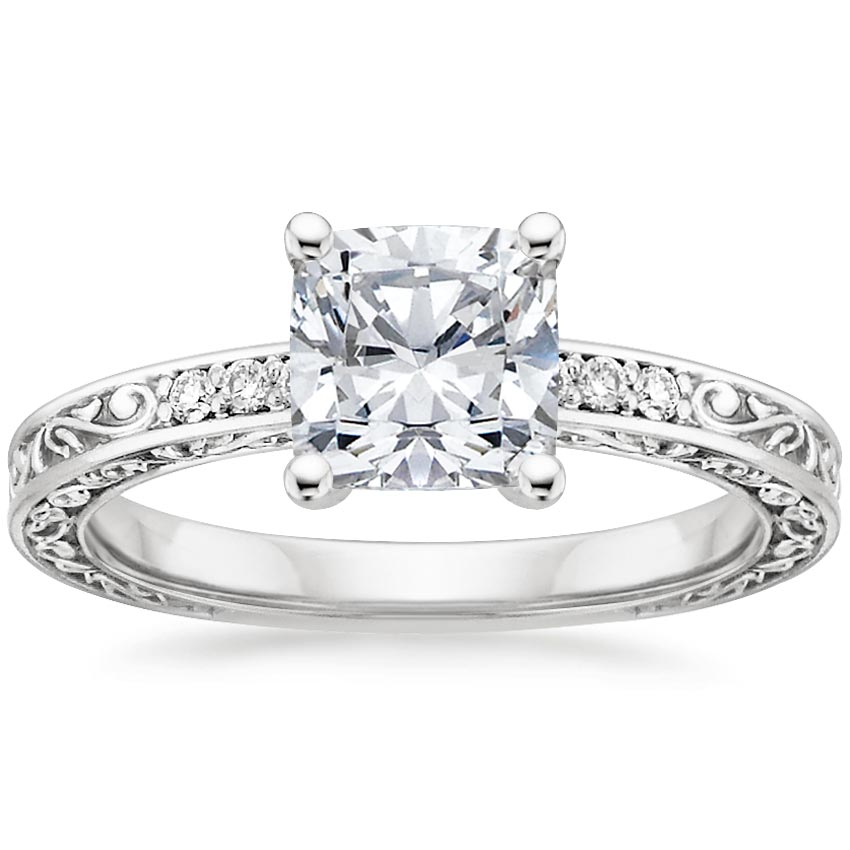 6 Stunning Cushion Cut Engagement Rings Brilliant Earth