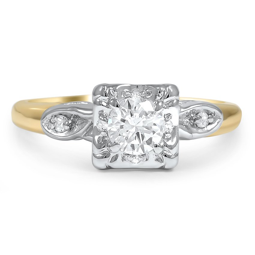 Debbie Art Deco Engagement Ring