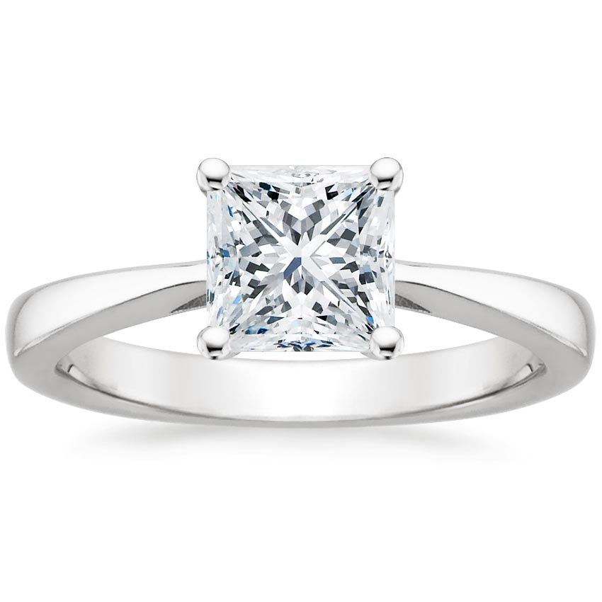 Stunning Princess Cut Engagement Ring Styles Brilliant Earth