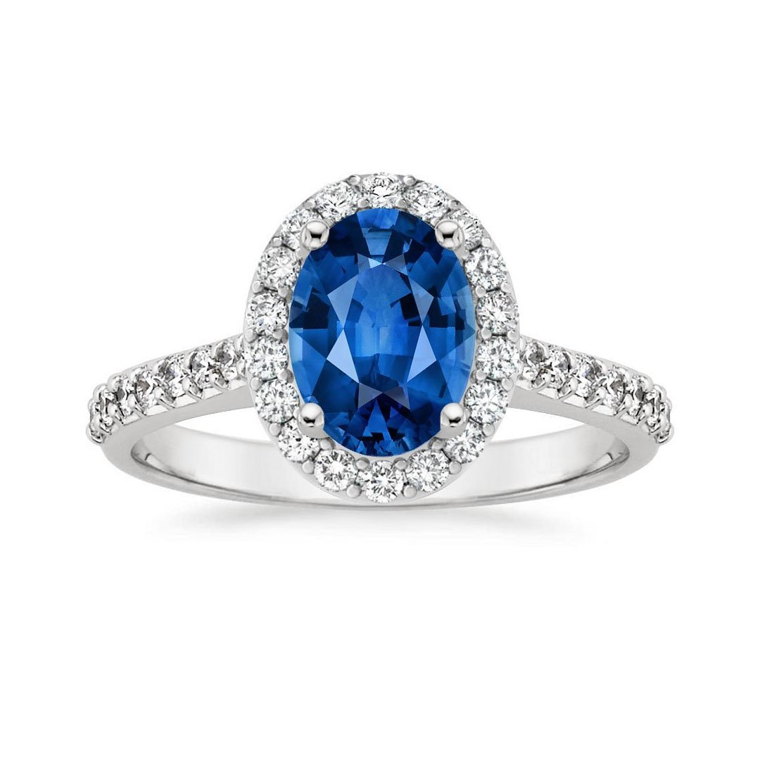Sapphire Engagement Ring Trends Brilliant Earth