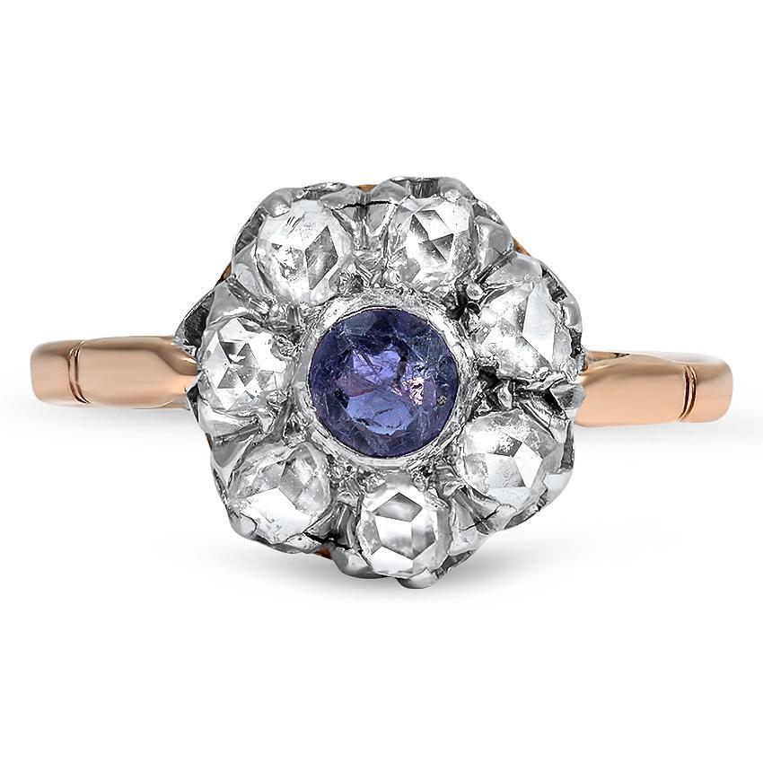Victorian era vintage engagement ring