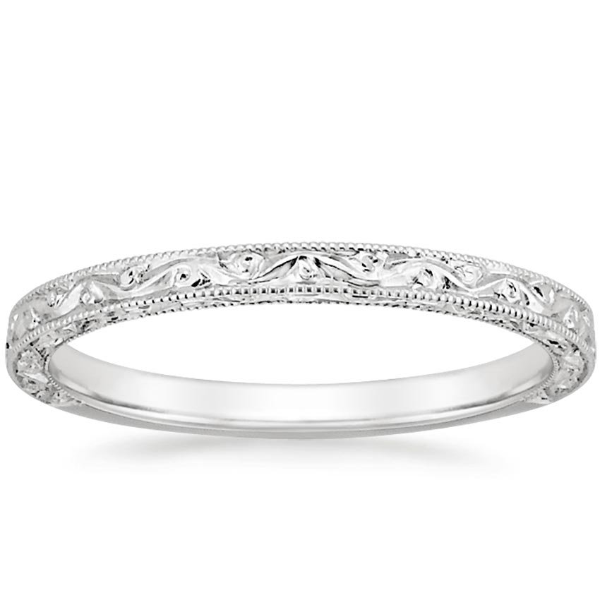 the hudson ring - Vintage Style Wedding Rings