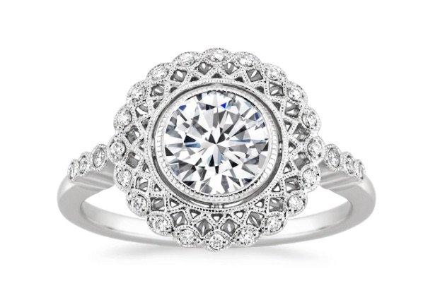 Alvadora Halo Engagement Ring copy