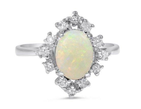 Lakisha opal ring copy