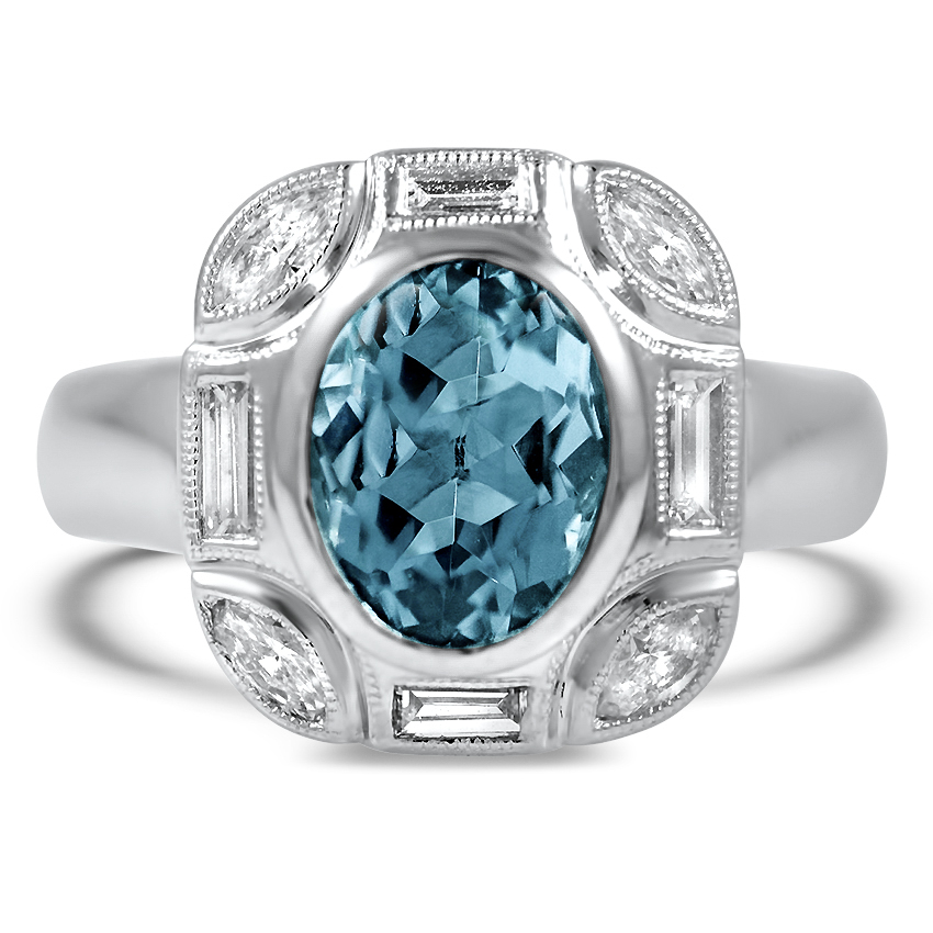 8 Gorgeous Aquamarine Engagement Rings Brilliant Earth