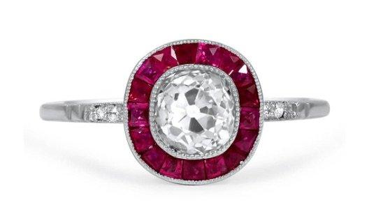 Buena Art Deco Ring