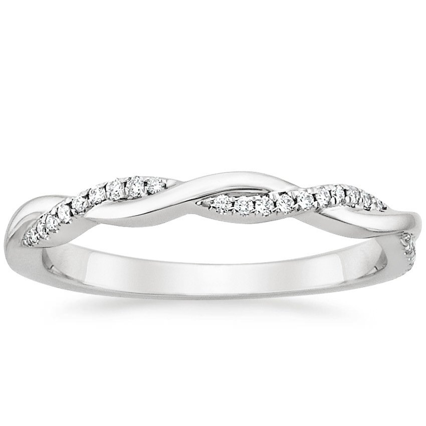 shop now petite twisted vine diamond ring - 25th Wedding Anniversary Rings
