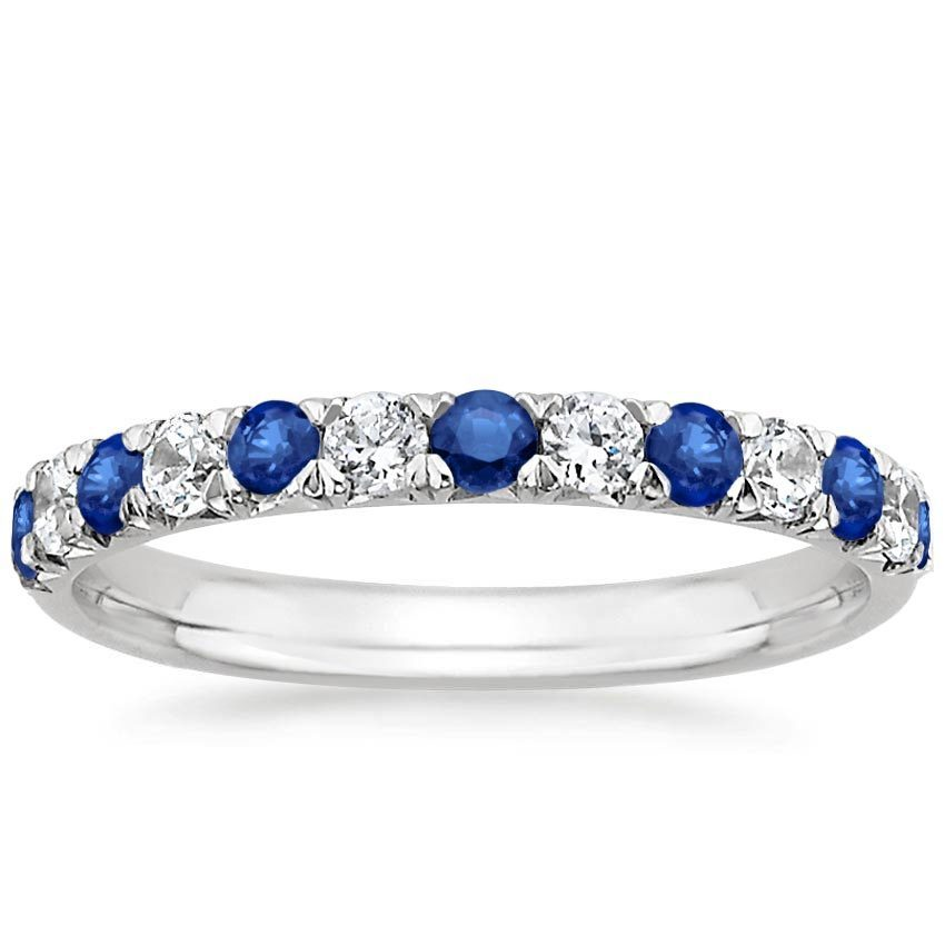 shop now sienna sapphire and diamond ring - 25th Wedding Anniversary Rings