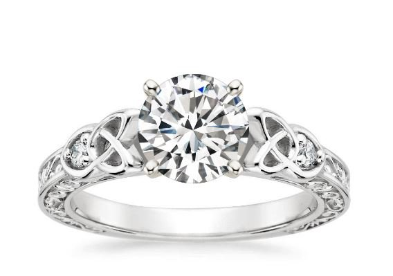 celtic knot engagement rings - Celtic Knot Wedding Rings