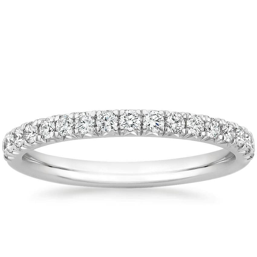 diamond bands as simple engagement rings - Simple Wedding Ring