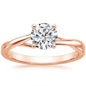 rose gold grace ring