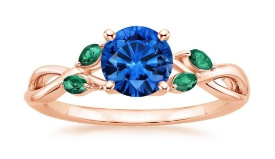 sapphire-emerald-and-rose-gold-engagement-ring-copy