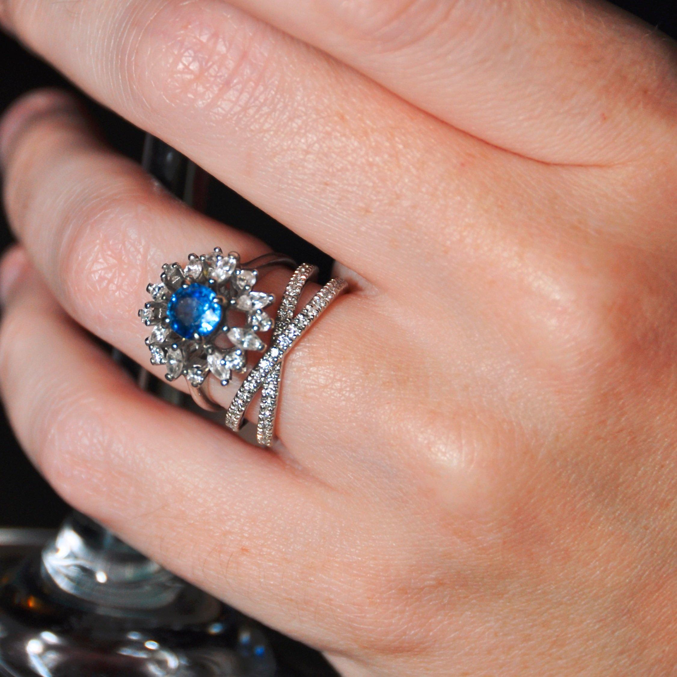 Black Sapphire Rings Melbourne