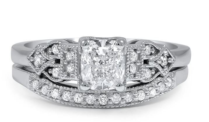 How to Pair a Unique Estate Ring with a Wedding Band Brilliant