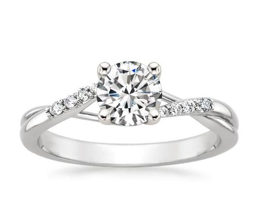 Chamise Diamond Engagement Ring