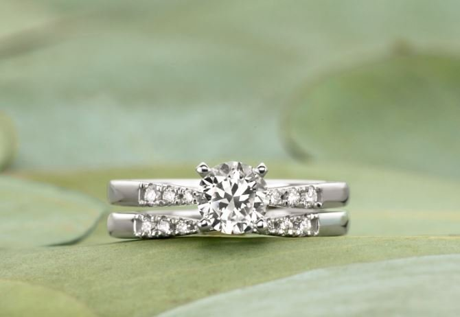 How to Match a Wedding Band Engagement Ring Brilliant Earth