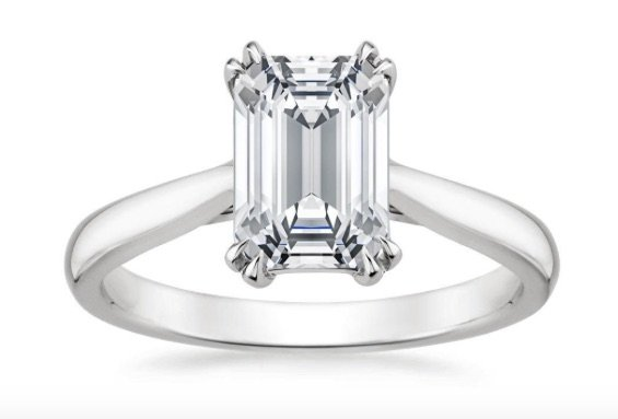 Audrey solitaire with double claw prongs copy