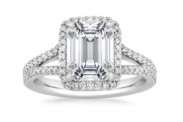 Fortuna Claw Prong Engagement Ring copy