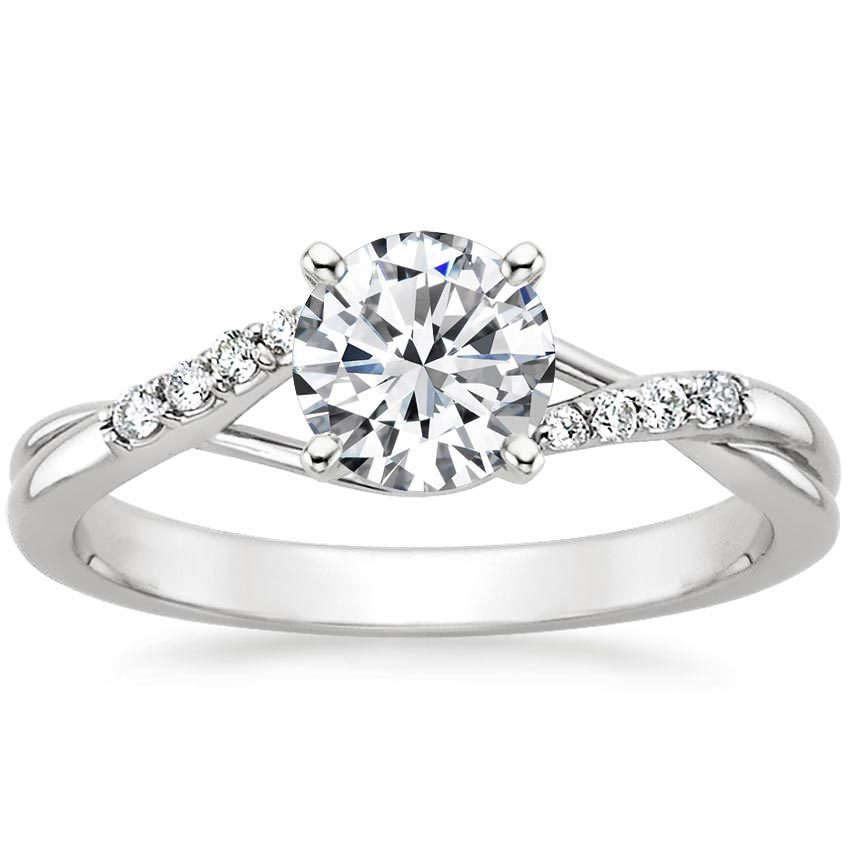 Chamise Diamond Ring with Accents