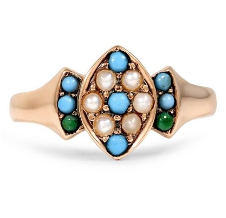 turquoise engagement ring copy