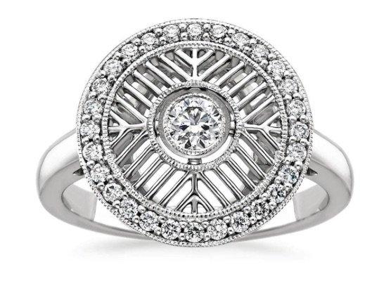 Derrylin Deco Engagement Ring copy