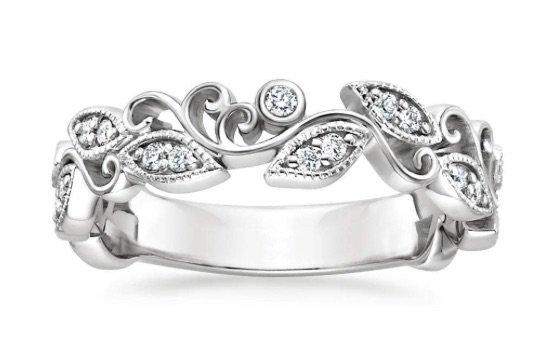 Ivy Scroll Diamond Ring copy