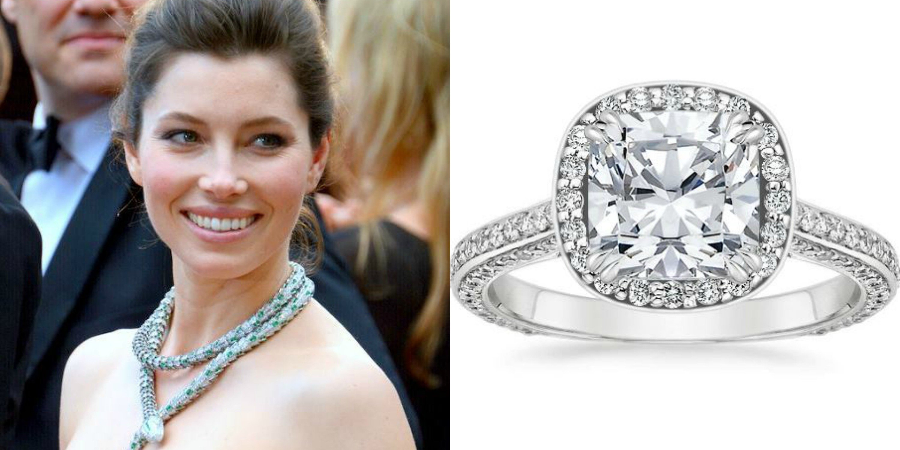best pinterest celeb public and rings stacking on engagement diamond celebrity images wedding
