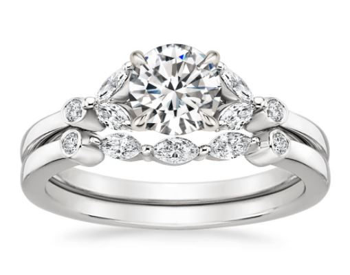 shop now - Nature Wedding Rings