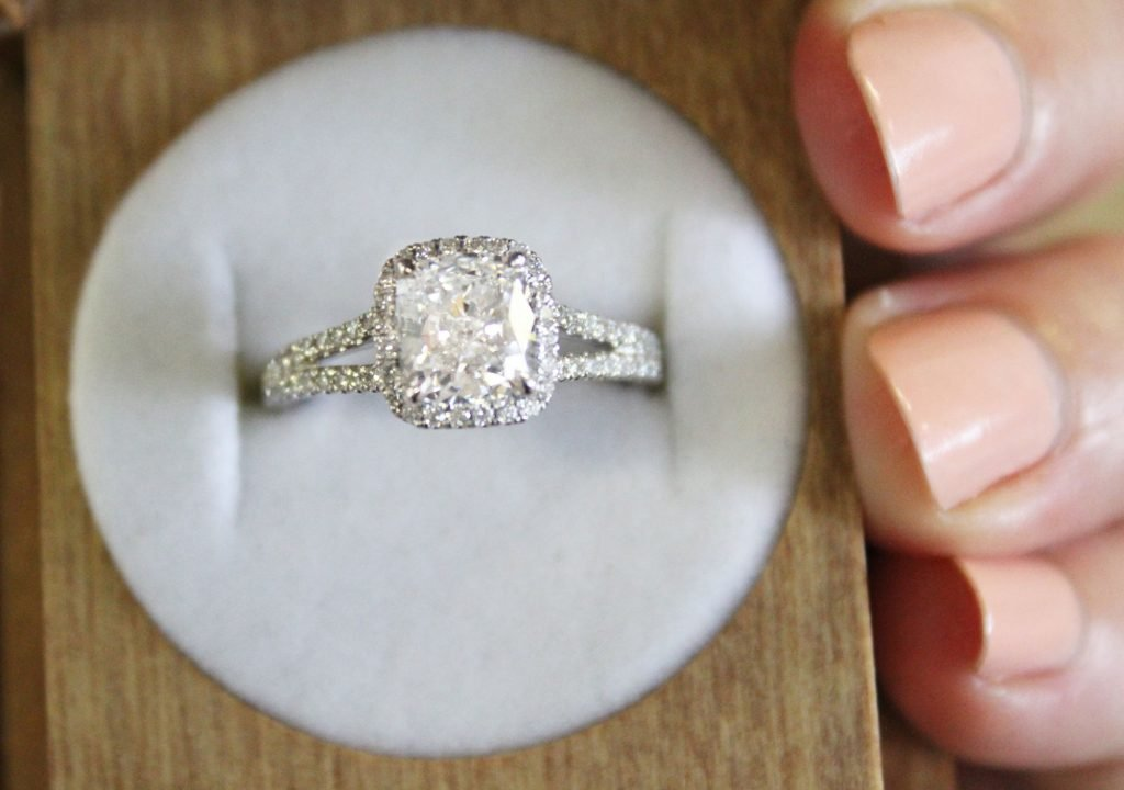 stunning split engagement rings wow will shank diamond contemporary ring pin this co gabriel any