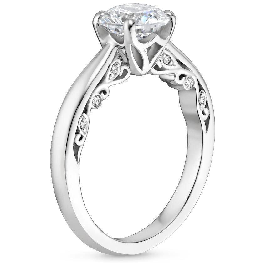 violetta diamond ring side