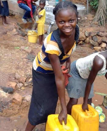 Brilliant Earth Fundraiser Brings Clean Water to Village