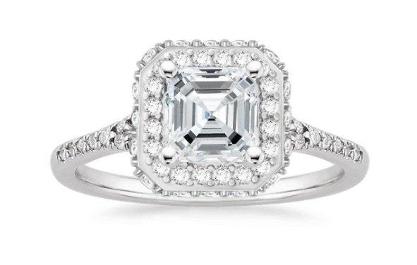 Circa Halo Engagement Ring copy